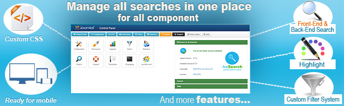 AceSearch 3 is out for Joomla 3